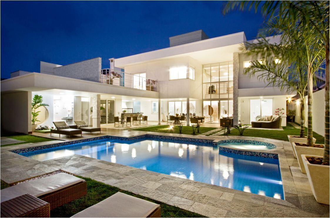 Casas modernas enquanto n o sou rica for Casa moderno kl