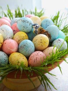 Ovos decorativos